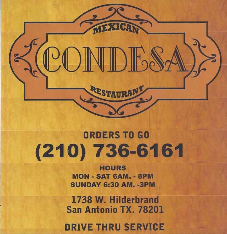 mexican restaurant menu cover