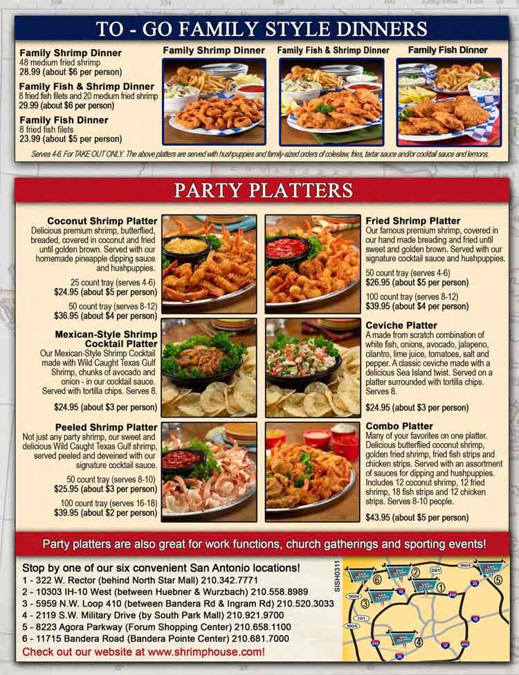 Sea Island Restaurant Nutrition