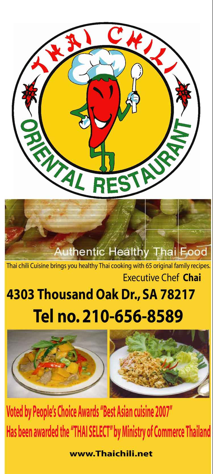 Thai chili restaurant in san antonio for Asia kitchen san antonio tx